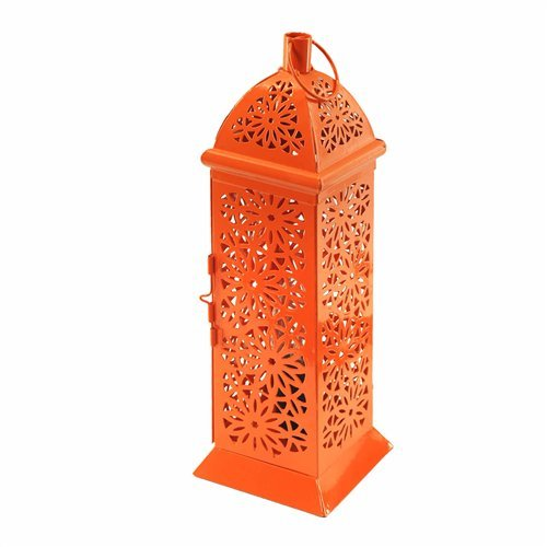 Art Deco Home - Lampe Fanal Orange 36 cm