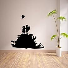 Banksy Us and Them la pared del vinilo 55x80