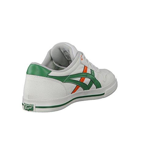 Onistuka Tiger Aaron Unisex-Erwachsene Basketballschuhe weiß/grün