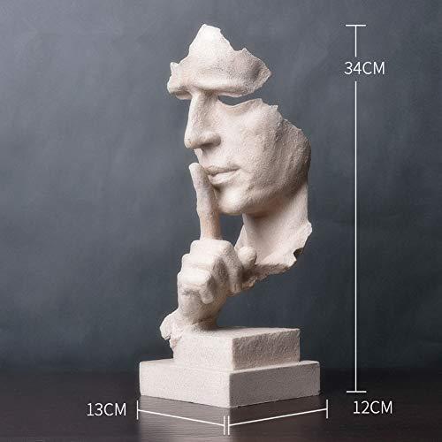 RYDX Moderno Simple Esculturas Pensador Estatua