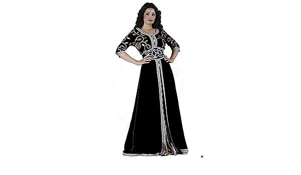 MODE ET CAFTAN DESIGN Takchita Excelia Hand Made from Morocco (34 36)   Amazon.fr  Vêtements et accessoires 5af2156303a