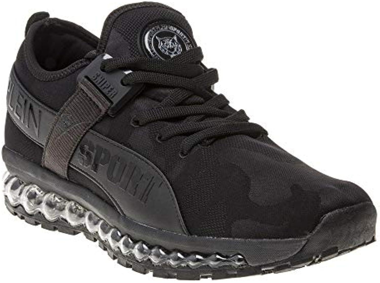 PLEIN SPORT Runner Original Bubble Uomo scarpe da da da ginnastica Nero | Facile da usare  | Uomo/Donne Scarpa  2f6c22