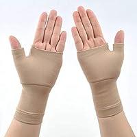 ZSZBACE Handgelenkbandage (2 Stück), Mittelgroße Druck-Bandage mit Daumen-, Handinnenflächen-, Karpaltunnel-Klammern... preisvergleich bei billige-tabletten.eu
