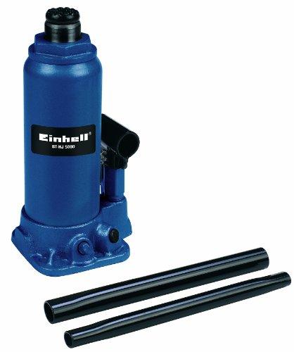 Einhell BT-HJ 5000 - Gato hidráulico, Color Azul