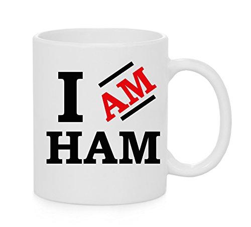 Ham Bin Ich (Ich bin Ham Offizielles Tasse)
