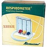 Wellness Pulse Respirometer Three Ball Deep Breathing Lung Exerciser