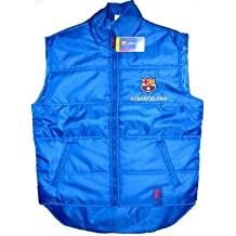 Chaleco acolchado impermeable Azul FCBarcelona Barça (M)