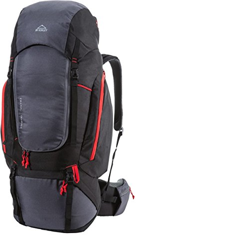 McKINLEY Make Trekkingrücksack, color negro, tamaño 80 x 30 x 25 cm, volumen 75liters