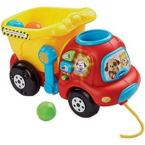 VTech 3380-166505 vehículo de juguete - vehículos de juguete (Multi, Niño, Batería, AAA, Window box) (versión en francés)
