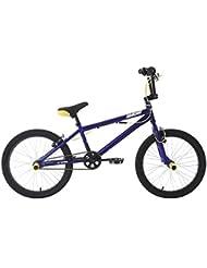 KS Cycling Hedonic Bmx Freestyle Mixte Enfant, Bleu, 20 Zoll