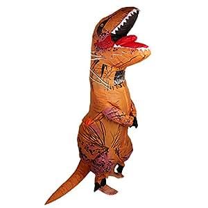 anzug kost m halloween aufblasbar t rex dinosaurier partei kinder k che haushalt. Black Bedroom Furniture Sets. Home Design Ideas