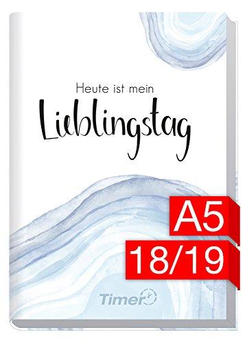Chäff-Timer Classic A5 Kalender 2018/2019 [Lieblingstag] 18 Monate Juli 2018-Dezember 2019 - Terminkalender mit Wochenplaner - Organizer - Wochenkalender