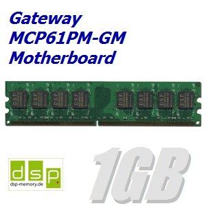 1GB Speicher / RAM für Gateway MCP61PM-GM Motherboard -
