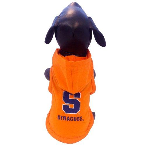 All Star Dogs NCAA Syracuse Orange Baumwolle Lycra mit Kapuze Hund Shirt, unisex, Team Color, M