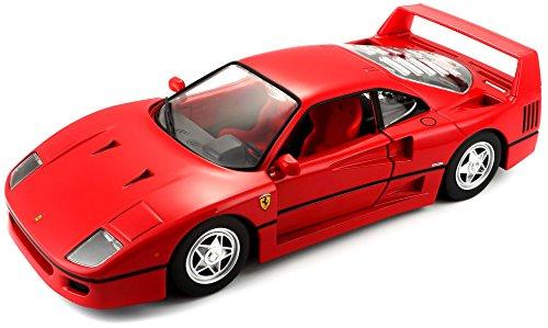 Bburago 15626016 - 1:24 Ferrari Race und Play F40 Fahrzeug