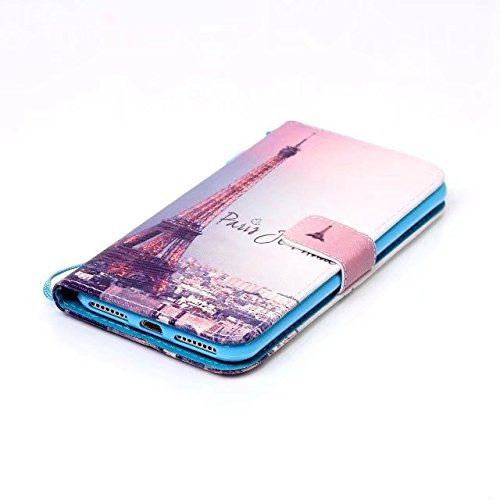 Cover iPhone 7 Plus,iPhone 8 Plus Coque,Valenth [Pu Leather] Portefeuille Coque Etui [Stand Feather] Flip Coque avec embouts pour iPhone 8 Plus / iPhone 7 Plus 9#