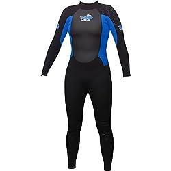 TWF Turbo Combinaison complte de natation pour femme Bleu Bleu FR : 16 (Taille Fabricant 16)