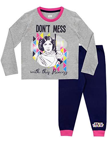 Princess Star Wars Kostüm - Star Wars Mädchen Prinzessin Leia Schlafanzug