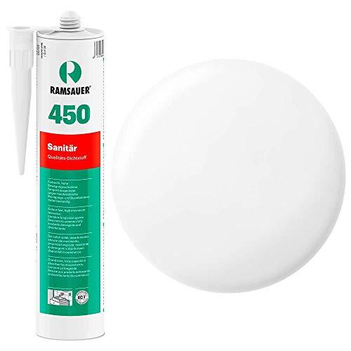 Ramsauer 450 1K Silikon Dichtstoff 310ml Kartusche (Transparent) -