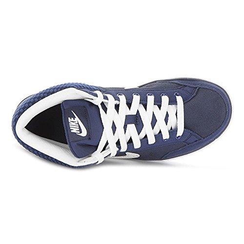 Nike Capri 3 MID LTR, Scarpe da Tennis Unisex – Bambini Multicolore (Azul / Blanco (Midnight Navy / White))