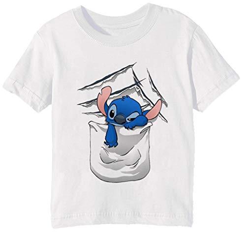 Schlechtigkeit Niveau Steigend Kinder Unisex Jungen Mädchen T-Shirt Rundhals Weiß Kurzarm Größe 2XS Kids Boys Girls White XX-Small Size 2XS