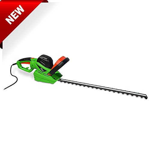 BMC Electric 240v Twin Bladed 610mm 61cm Hedge Trimmer 710W 20mm Cut Capacity Fitted 10m Cable