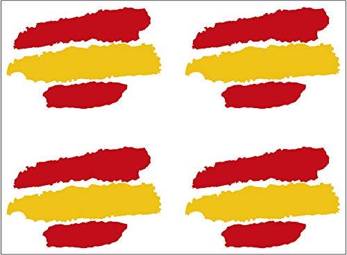 Artimagen Pegatina Bandera Trazos España