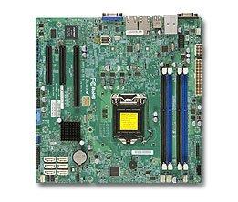 Supermicro X10SLM +-F–Server (Micro ATX, Intel, Socket H3(LGA 1150), E3–1200, DDR3, 1600MHz)