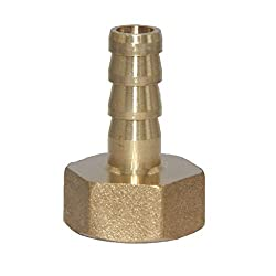 KESOTO NPT Kupplung Gewindekupplung Schlauchverbinder 1/4 1/8 3/8 1/2 1 Zoll Adapter - 3/8-8mm
