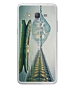 PrintVisa Running Boat High Gloss Designer Back Case Cover for Samsung Galaxy Grand 2 :: Samsung Galaxy Grand 2 G7105 :: Samsung Galaxy Grand 2 G7102 :: Samsung Galaxy Grand Ii