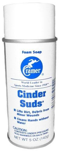 cramer-cinder-suds-waterless-foam-hand-soap-and-wound-cleaner-for-athletes-5-ounce-spray-by-cramer