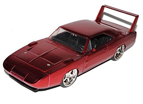 Dodge Charger Daytona Muscle Cars Coupe Rot Fast and Furious VI Design 1968-1974 1/24 Jada Modell Auto