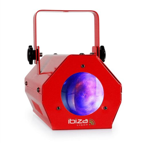 Dieses Moonflower-Lichtspiel der neuesten Generation erzeugt zahlreiche Effekte, dynamische Muster und Farben. Ideal für mobile Discos und kleine Clubs rot
