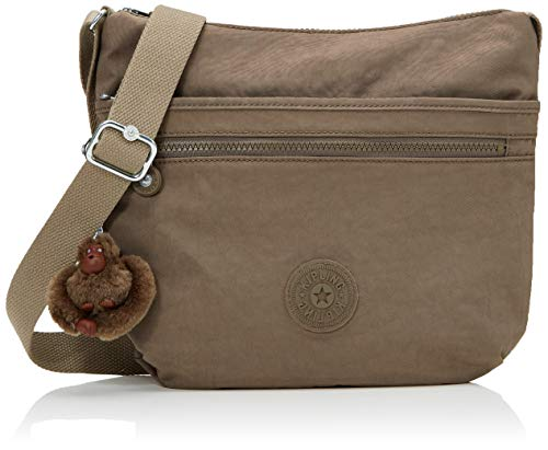 Kipling Arto Shoulder Bag For Women, 29 X 26 X 4 Cm Brown Size: One Size