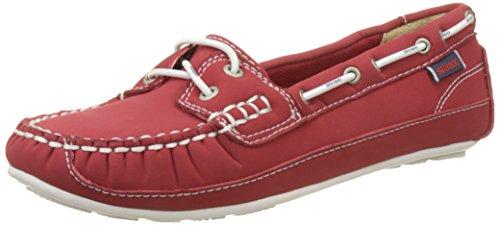 Sebago Bala, Escarpins Peep-Toe Femme - Gris - Gris/Lt Gray, 38.5 EU Red (Red Ariaprene)