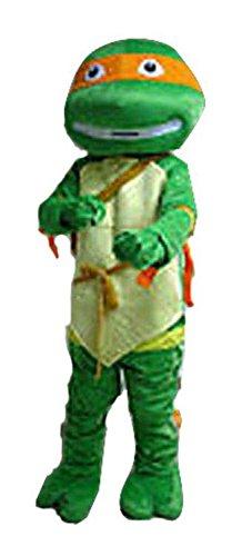 utant Ninja Turtles Hochwertige-Maskottchen Kostüm (Damen Kostüm Tmnt)