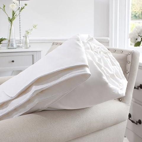 Jasmine Silk 100% mûrier soie rempli couette naturelle de duvet (140x200cm) poids d'été (300gm²) Anti Mites + Anti Moustiques + Anti Punaises de