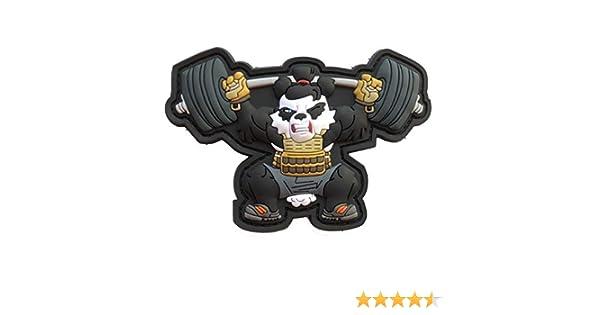TACOPSGEAR entra/înement Xfit Fitness Panda Weightlift Patch Hiwez