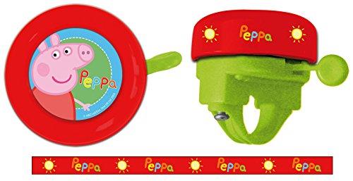 Timbre Ring Niño Niña Infantil Peppa Pig para Manillar de Bicicleta 70200 6220