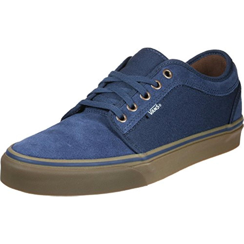 Vans Chukka Low 18 - Zapatillas para Hombre, Talla 11, Color Rich Navy Gum -
