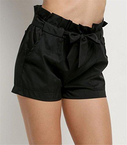 ... Aeneontrue Damen Shorts Blumen Bedruckte Bandage High Waist Hot Pants  Sexy Sommer Strand Kurzschluss Kurz Hosen 4a23dcca3e
