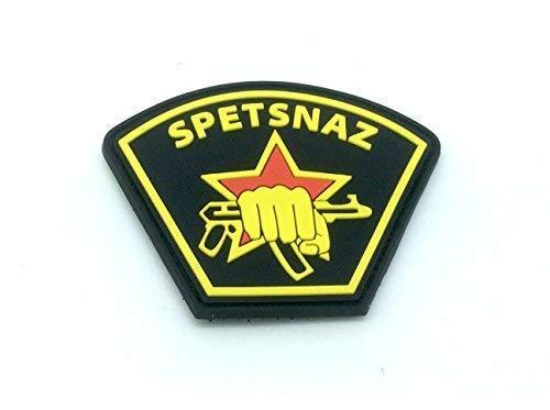Spetsnaz Fuerzas Especiales Rusas Velcro PVC Parche