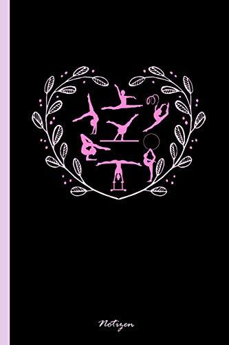 """Notizen: Notizbuch, Journal & Tagebuch Für Turnerinnen, Turner, Turn-Athleten - Geschenk Für Kinder, Schule & Freizeit, liniert mit Überschrift (120 Seiten, 6x9"""")"""