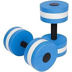 Gankmachine 1 par Agua Aerobic Mancuernas acuática EVA Barra Aqua Fitness Piscina Yoga Ejercicio de Accesorios elásticos