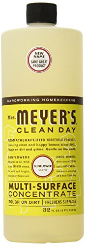 Mrs. Meyer's Multi Surface Concentrate, Sunflower, 32 Fluid Ounce