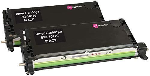 2 Schwarz Premium Toner kompatibel für Dell 3110, 3110cn, 3115, 3115cn | 8.000 Seiten - Dell-3110cn-schwarz-tonerkassette