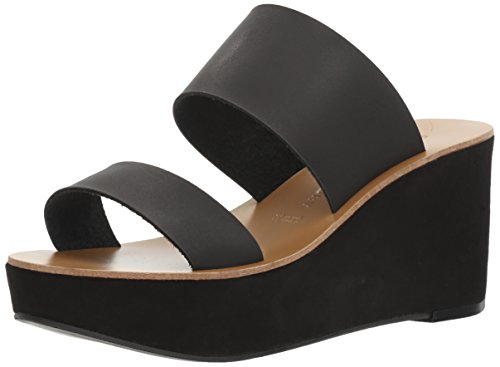 Chinese Laundry Women's Ollie Wedge Sandal, Black