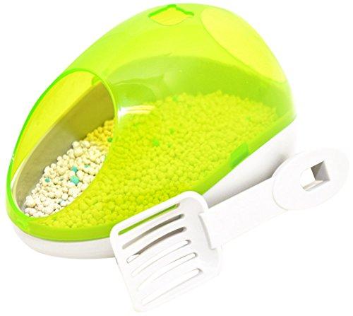 Duvo+ Kit Maison de Toilette pour Hamster Vert