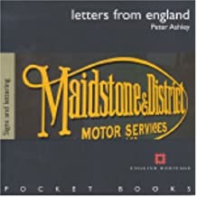 [(Letters from England - Traditional Lettering)] [Author: Peter Ashley] published on (December, 2004)