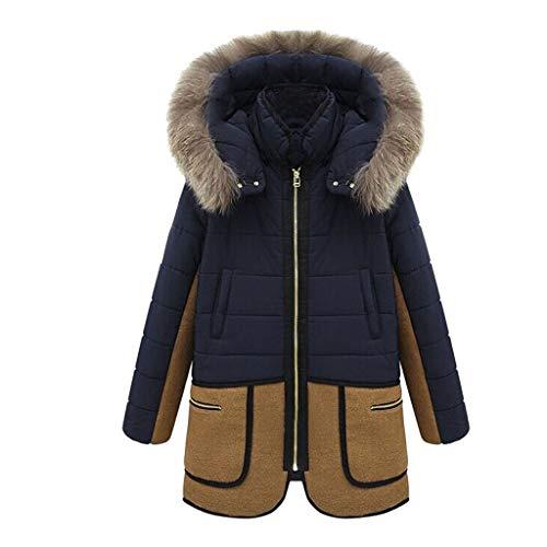 iFRich Cappotto Invernale Parka Invernale Foderata da Donna 8 Colori XS-XXL